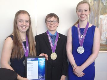 Bluewater students win medals at Canada science fair