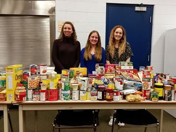 Students scare hunger