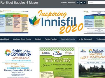Mayor ordered to remove town logos from re-election website