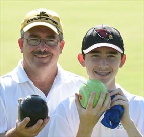 Lawn bowlers