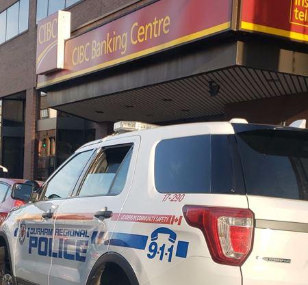 Suspect in Oshawa CIBC bank robbery arrested