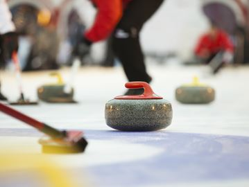 Beers and Gill battle it out at Parry Sound Curling Club