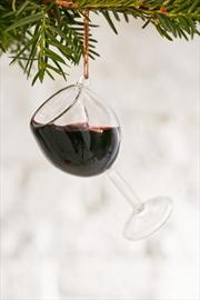 Kurt Adler wine ornament