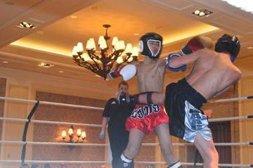 The kick-boxing competitions for the 2014 Ontario Winter Games were held at the JW Marriott in Minett. Competion concluded on Saturday.