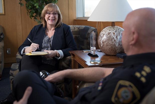 Halton Police Meeting Room