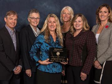 Barrie's RVH earns healthy workplace award