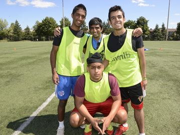 Oakville quartet scores for mental health with Kicks for Change