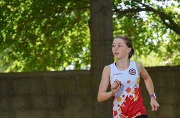 Emma Waddington, a third-generation orienteer who is also a McMaster University student, recently finished sixth in the junior world championship in Hungary.