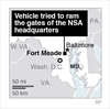 US officials: 1 dead after car tries to ram Fort Meade gate-Image1
