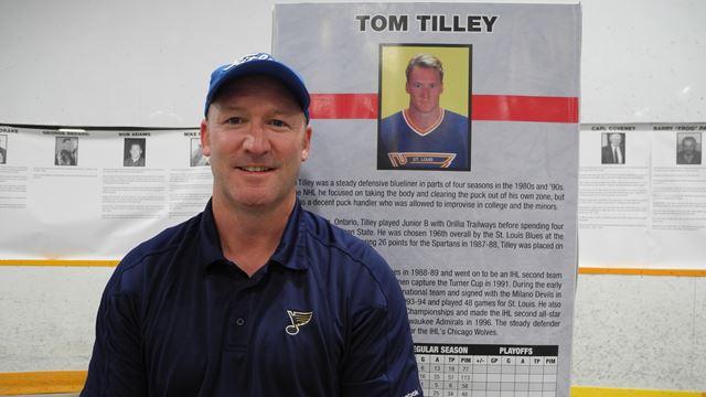 Former NHL player Tom Tilley