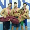 Aquinas swimmers' two golds highlight medal haul at OFSAA championships