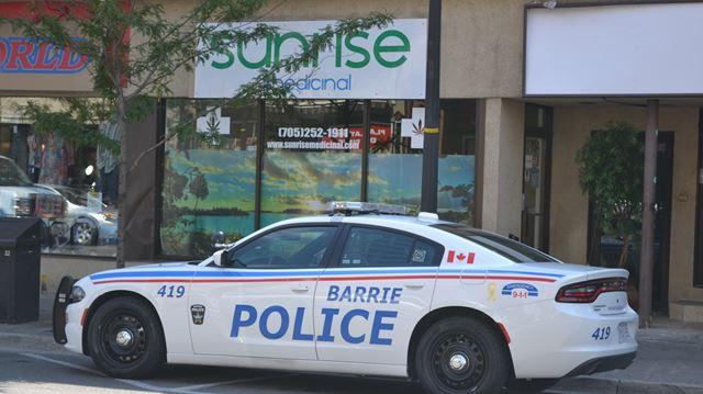 Barrie police raid store-front marijuana dispensaries