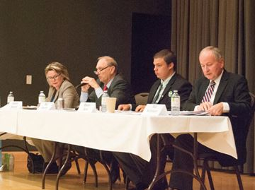 Candidates square off in first public debate for Niagara Falls riding
