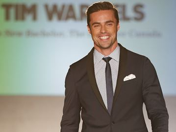 Bachelor Canada Tim Warmels says he's happy now