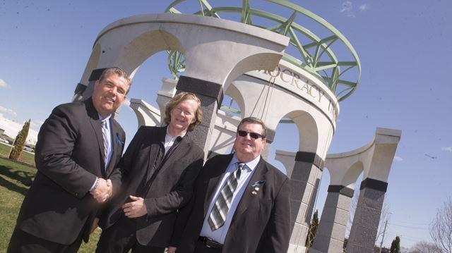 Oakville-based IUOE unveils memorial monument