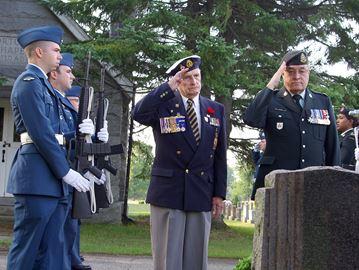 Alliston ceremony honours First World War soldiers