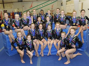 Gymnasts excel at first qualifier