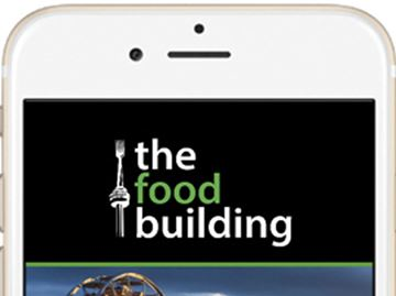 The Food Building app