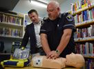 New defibrillator at GMPL