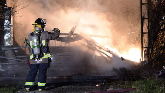 Home destroyed in overnight blaze