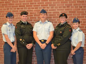 Cadets holding tag days in Alliston and Angus