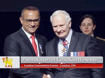Humber doctor receives Governor General award
