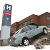 Crash at hospital - Jan. 19 (1)