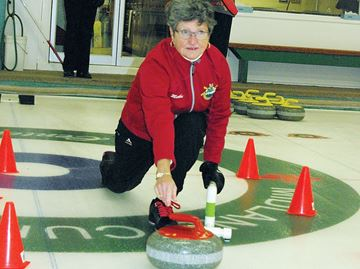 School is in session at Midland Curling Club