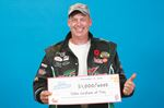 Tiny Township man wins $1,000 a week for life