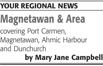 MAGNETAWAN AND AREA NEWS