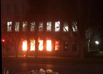 Fire at 1055 Princess St