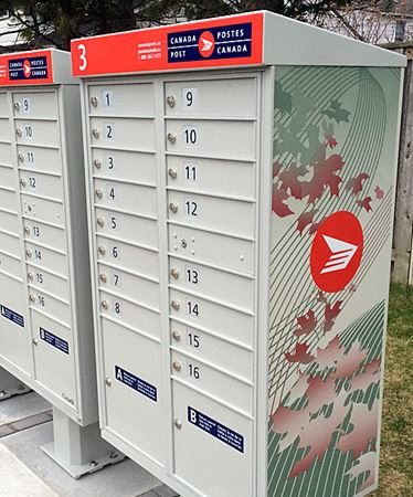 Canada Post super mailbox Elmhurst Drive 3