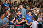 Tristan Thompson at d'Youville