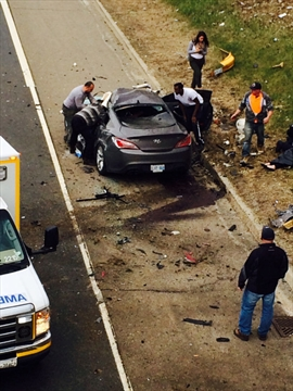 Two critically hurt in Linc crash   TheSpec com