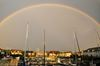 Rainbow Over Newport Yacht Club