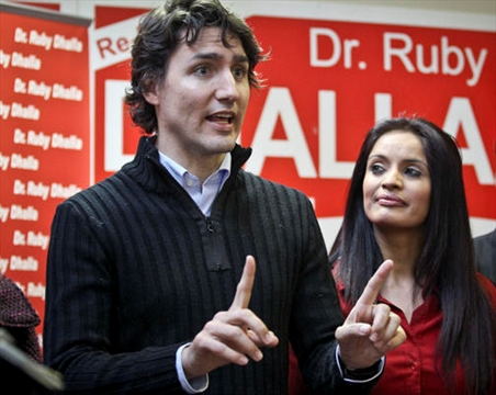 Trudeau visits key ridings