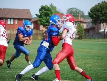 2015 junior boys football action