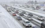 Lake effect snow snarls traffic