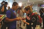 Olympians return