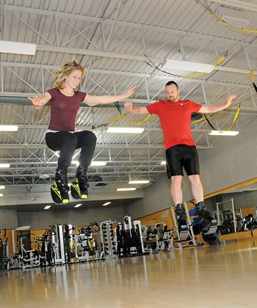 Bouncing like a kangaroo one of latest fitness trends in Barrie
