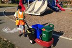 Put waste in its place, urges young Miltonian