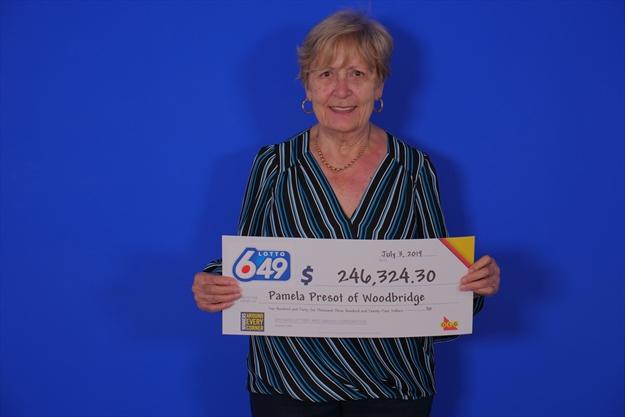 Woodbridge woman scores nearly $250,000 in Lotto 649 draw