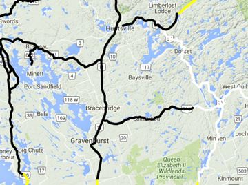 Road report for Muskoka region Feb. 11.