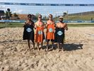 Goodale Miller team wins 4-on-4 charity volleyball title
