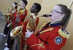 Burlington Teen Tour Band going to Holland for war anniversary events