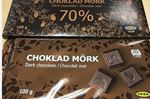 CHOKLAD MÖRK chocolate bars from Ikea