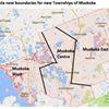Three Muskoka map