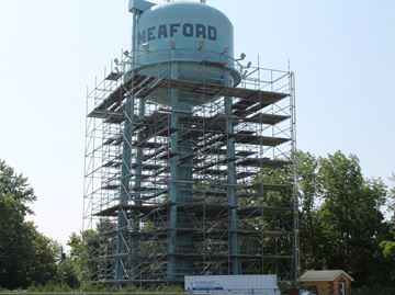 Work on Meaford water tower underway