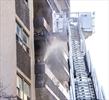 Balcony fire