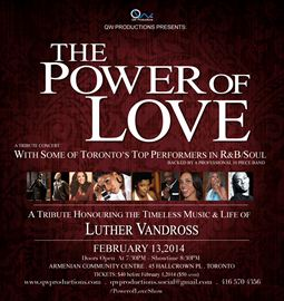The Power of Love an Tribute to Luther Vandross